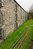 The Barrel Run, Woodford Reserve Distillery, Versailles (near Lexington), Kentucky USA