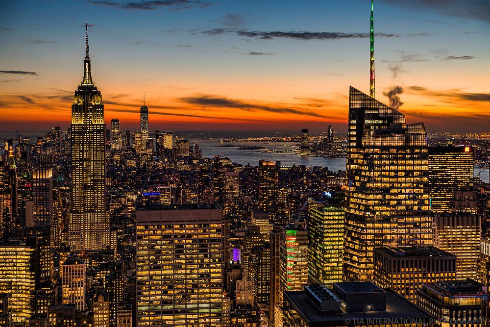 Manhattan, Hudson River & Jersey City