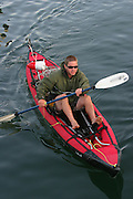 Kayaking, Dungeness Crabs, San Juan Islands, Washington<br />