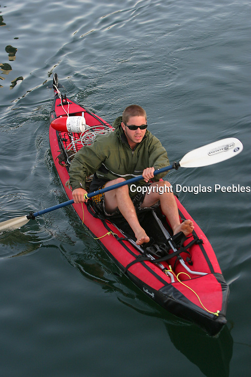 Kayaking, Dungeness Crabs, San Juan Islands, Washington<br />