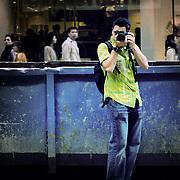 Reflection, Hong Kong, China (January 2006)