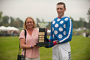 9  April, 2011:  Paddy Young took his first win of the day aboard SLANEY ROCK in the Stoneybrook Cup.