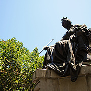 Statue of Queen Victoria outside the QVB on George Street in Sydney's CBD