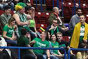 Tifosi Zalgiris Kaunas, AX ARMANI EXCHANGE OLIMPIA MILANO vs ZALGIRIS KAUNAS, EuroLeague 2017/2018, Mediolanum Forum, Milano 9 novembre 2017 - FOTO Bertani/Ciamillo-Castoria