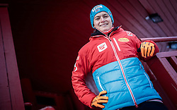 24.11.2016, Nordic Arena, Ruka, FIN, Nordic Opening, Kuusamo, Nordische Kombination, im Bild Bernhard Flaschberger (AUT) während eines Fototermins // during a Photoshooting before the FIS Nordic Combined World Cup of the Nordic Opening at the Nordic Arena in Ruka, Finland on 2016/11/24. EXPA Pictures © 2016, PhotoCredit: EXPA/ JFK