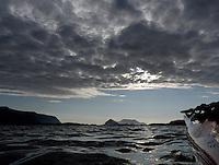 Kayaking Åsefjorden, Møre og Romsdal