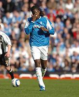 Photo: Leigh Quinnell.<br /> Birmingham City v Newcastle United. The Barclays Premiership. 29/04/2006. Birminghams Mario Melchiot feels the pain.