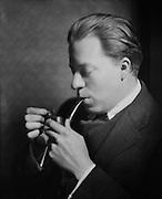 Christopher Morley, novelist, USA, 1924