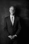 Portrait of Mike Malone with Northwest Arkansas Council for AY Magazine's powerful men.<br /> <br /> Photo by Beth Hall