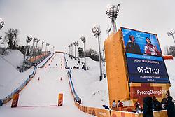 February 9, 2018 - Pyeongchang, South Korea - 180209 Phoenix Snow Park, during the WomenÃ•s Moguls Qualification during the 2018 Winter Olympics on February 9, 2018 in Pyeongchang..Photo: Petter Arvidson / BILDBYRN / kod PA / 91955 (Credit Image: © Petter Arvidson/Bildbyran via ZUMA Press)