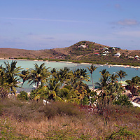 St. Jean Beach on St. Barts island in the Caribbean, a popular cruise destination.