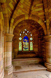 The Roxburghe Memorial Cloister – built in the 1930s to commemorate the 8th Duke of Roxburghe, Kelso Abbey, Scottish Borders<br /> <br /> (c) Andrew Wilson   Edinburgh Elite media