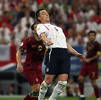 Photo: Chris Ratcliffe.<br /> England v Portugal. Quarter Finals, FIFA World Cup 2006. 01/07/2006.<br /> Gutted John Terry.