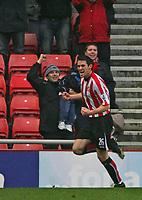 Photo: Andrew Unwin.<br /> Sunderland v Tottenham Hotspur. The Barclays Premiership. 12/02/2006.<br /> Sunderland's Daryl Murphy celebrates scoring his team's late equaliser.