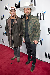 Nov. 13, 2018 - Nashville, Tennessee; USA - Musicians LOCASH attends the 66th Annual BMI Country Awards at BMI Building located in Nashville.   Copyright 2018 Jason Moore. (Credit Image: © Jason Moore/ZUMA Wire)