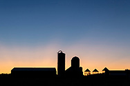 Waiting for sunrise at Smiley Farm in the Town of Wallkill, N.Y., on Sept.24, 2019.