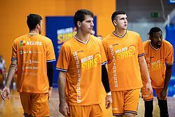 Uros Sikanic KK Helios Suns during 9. round of Slovenian national championship between teams Helios Suns and Zlatorog Lasko in Sport Hall Domzale on 30. November 2019, Domzale, Slovenija. Grega Valancic / Sportida