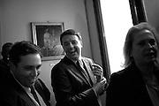 Matteo Renzi e Filippo Sensi, portavoce del premier. Roma 14 ottobre 2014 . Daniele Stefanini /  OneShot