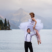 kieran & ellen bridal shoot  in queenstown