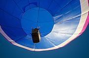 'Aspirations' passing overhead, Crown of Maine Balloon Fair, Presque Isle, Maine.
