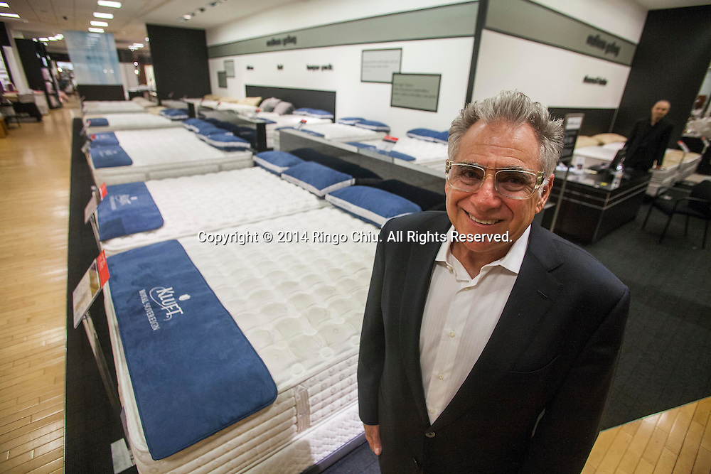 Earl Kluft, president and owner of Kluft Mattress.<br /> (Photo by Ringo Chiu/PHOTOFORMULA.com)