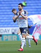 Bolton Wanderers Jason Lowe greets the fans before the EFL Sky Bet League 1 match between Bolton Wanderers and Accrington Stanley at the University of  Bolton Stadium, Bolton, England on 29 February 2020.