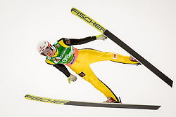 Evgeniy Klimov (RUS) during Ski Flying Hill Men's Individual Competition at Day 4 of FIS Ski Jumping World Cup Final 2017, on March 26, 2017 in Planica, Slovenia.Photo by Ziga Zupan / Sportida
