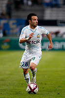 FOOTBALL - FRENCH CHAMPIONSHIP 2011/2012 - L1 - OLYMPIQUE MARSEILLE v EVIAN TG  - 21/09/2011 - PHOTO PHILIPPE LAURENSON / DPPI - MATHIEU VALBUENA (OM)