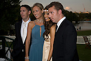CHRISTIAN CANDY; EMILY CROMPTON;  YAEL TORN-HIBLER; NICK CANDY, Royal Parks Foundation Summer party. Gala evening, sponsored by Candy & Candy on behalf of One Hyde Park. Hyde Park. London. 10 September 2008 *** Local Caption *** -DO NOT ARCHIVE-© Copyright Photograph by Dafydd Jones. 248 Clapham Rd. London SW9 0PZ. Tel 0207 820 0771. www.dafjones.com.