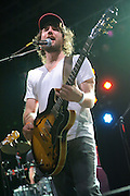 Indie-rock band Broken Social Scene performing at LouFest in St. Louis on August 28, 2010.
