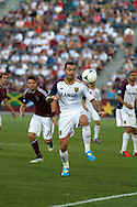 August 4, 2012: Real Salt Lake midfielder Jonny Steele (22) tries to control the ball in the first half against the Colorado Rapids at Dick's Sporting Goods Park