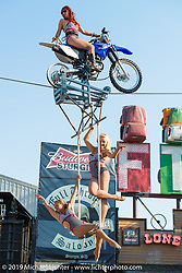 Saturday at the Full Throttle Saloon during the annual Black Hills Rally. Sturgis, SD, USA. August 2, 2014.  Photography ©2014 Michael Lichter.