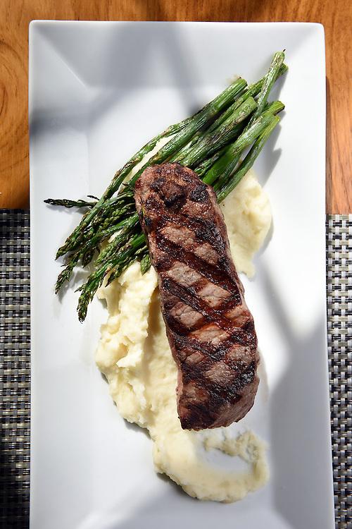 Mara Lavitt<br /> February 28, 2016<br /> For Connecticut Magazine<br /> The Mockingbird Kitchen & Bar, Bantam. The New York steak.