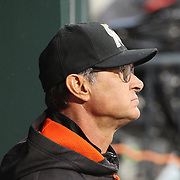 NEW YORK, NEW YORK - APRIL 11: Manager Don Mattingly, Miami Marlins, in the dugout during the Miami Marlins Vs New York Mets MLB regular season ball game at Citi Field on April 11, 2016 in New York City. (Photo by Tim Clayton/Corbis via Getty Images)
