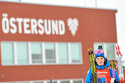 March 16, 2019 - –Stersund, Sweden - 190316 Hanna Öberg of Sweden celebrate after  the Women's 4x6 km Relay during the IBU World Championships Biathlon on March 16, 2019 in Östersund..Photo: Petter Arvidson / BILDBYRÃ…N / kod PA / 92268 (Credit Image: © Petter Arvidson/Bildbyran via ZUMA Press)