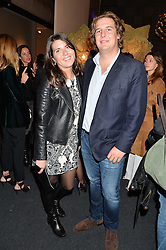 ALICE RIVIER and ANTON RUPERT at the PAD London 10th Anniversary Collector's Preview, Berkeley Square, London on 3rd October 2016.