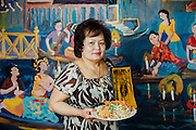 Business Portrait of Nancy Somvong, owner and chef of Paitong Thai restaurant