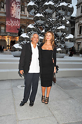 ANISH KAPOOR and his wife SUSANNA attend the private view of Anish Kapoor's latest exhibition at the Royal Academy of Arts, Piccadilly, London on 22nd September 2009