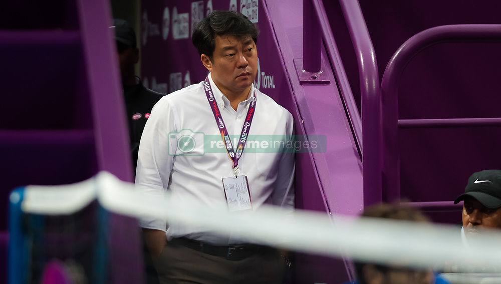 February 11, 2019 - Doha, Spain - Tony Cho during the final qualifications round of the 2019 Qatar Total Open WTA Premier tennis tournament (Credit Image: © AFP7 via ZUMA Wire)