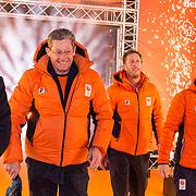 NLD/Amsterdam/20180226 - Thuiskomst TeamNL, Jillert Anema