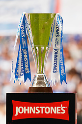A view of the trophy - Photo mandatory by-line: Rogan Thomson/JMP - 07966 386802 - 30/03/2014 - SPORT - FOOTBALL - Wembley Stadium, London - Chesterfield FC v Peterborough United - Johnstone's Paint Trophy Final.