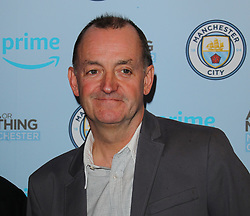 Craig Cash arriving for the All or Nothing: Manchester City, world premiere at Vue Printworks, Manchester.