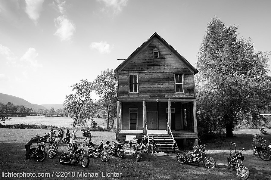 The Old Masonic Lodge, Reliance, TN. 2010<br /> <br /> Limited Edition Print from an edition of 30. Photo ©2010 Michael Lichter.
