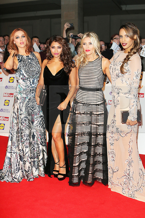 © Licensed to London News Pictures. 07/10/2013, UK. Una Healy; Vanessa White; Mollie King; Rochelle Humes; The Saturdays, Pride of Britain Awards, Grosvenor House Hotel, London UK, 07 October 2013. Photo credit : Richard Goldschmidt/Piqtured/LNP