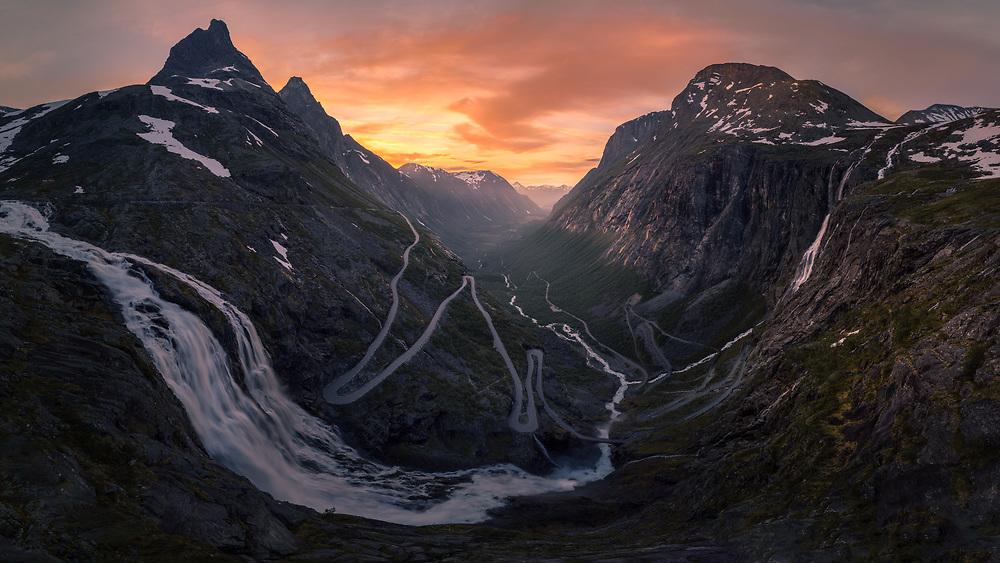 Romsdalen, Norway. June 2020.