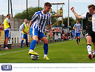 Bobbie Dale during the Pre-Season Friendly match between Weston Super Mare and Cheltenham Town at the Woodspring Stadium, Weston Super Mare, United Kingdom on 18 July 2015. Photo by Carl Hewlett