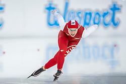 10-12-2016 NED: ISU World Cup Speed Skating, Heerenveen<br /> 1500 m women / Luiza Zlotkowska POL