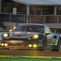 #93, Proton Competition, Porsche 911 RSR (991), driven by: Patrick Long, Abdulaziz Turki Al Faisal, Michael Hedlund, 24 Heures Du Mans 85th Edition, 18/06/2017,