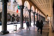 Torino i portici in via Roma