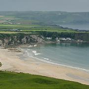 Ireland coastline.